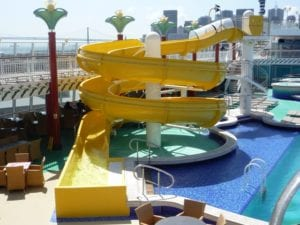 Norwegian Gem Waterslide
