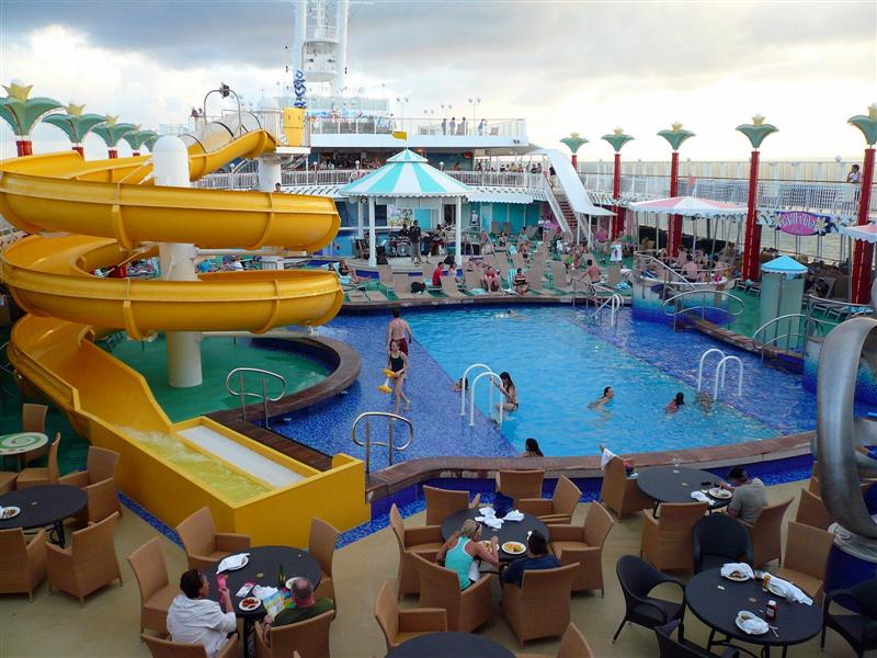 Norwegian Pearl Pool Cruise Fever