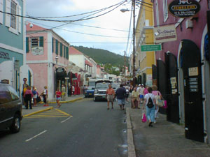 Shopping in St Thomas