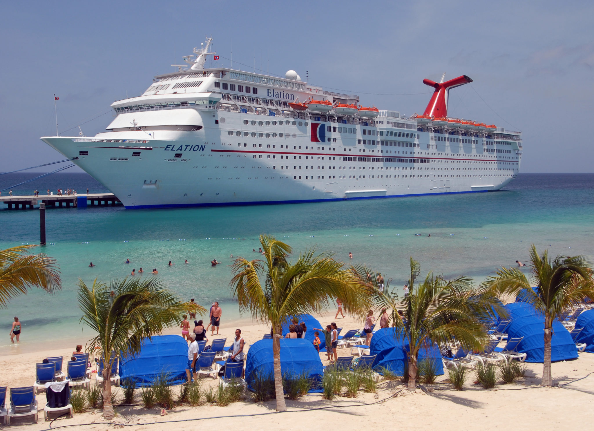 Here are a few fun facts about cruise ships. We will be adding more as
