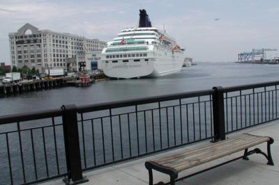 port of boston cruise ships