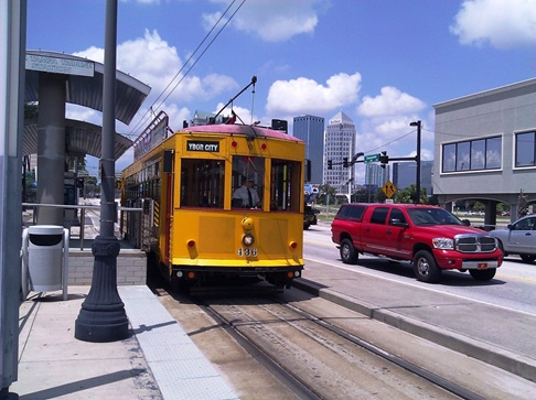 Ybor city tampa trolley