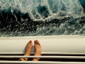seasick on cruise ship