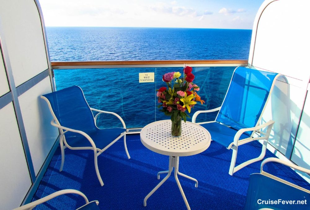 5 benefits to having a balcony cabin on your cruise for Balcony on carnival cruise