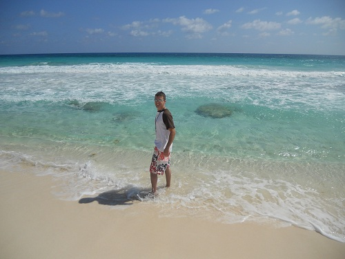 beaches along Cozumel