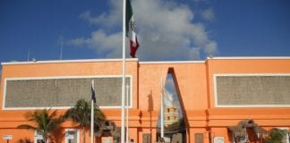 costa maya entrance
