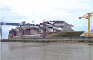 msc preziosa in dock