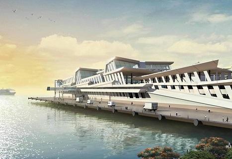 singapore international port drawing