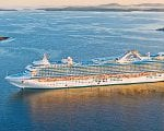 Caribbean Princess Propulsion Fixed, Sails to St Thomas