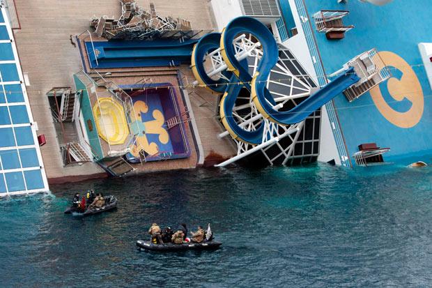 Costa Concordia S Recovery Timeline