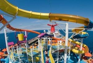 carnival twisted slide