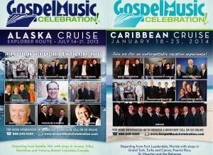 christian gospel singing cruise flyer