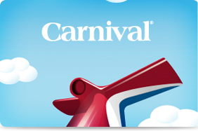 Carnival Now Offering Gift Cards