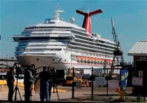 Carnival triumph sunshine repairs