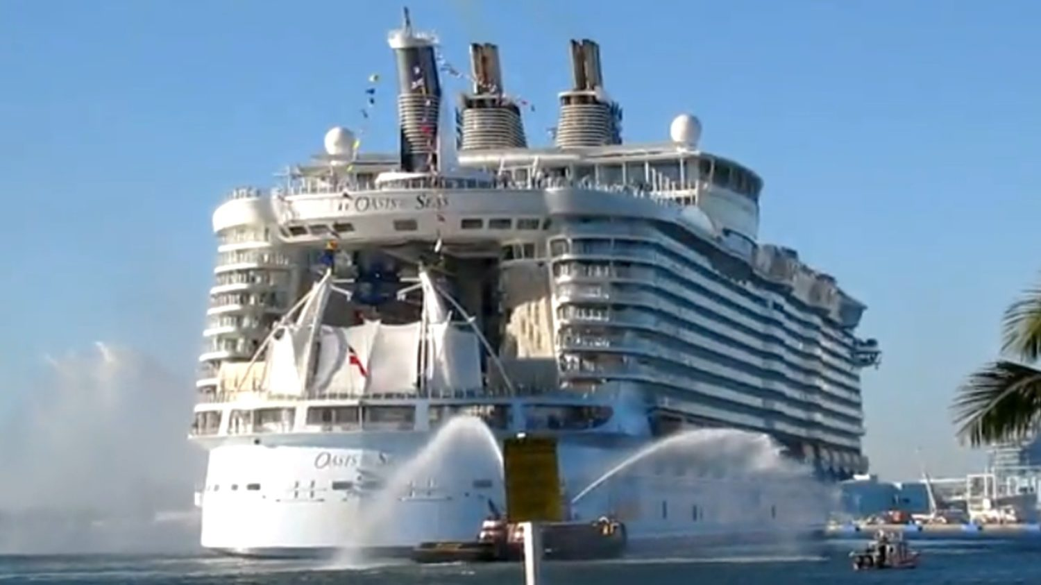 Oasis of the Seas to Sail 3 Cruises to Europe in 2014