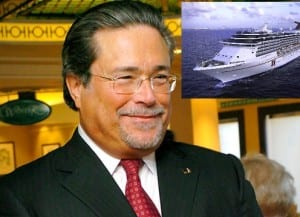carnival cruise lines ceo steps down