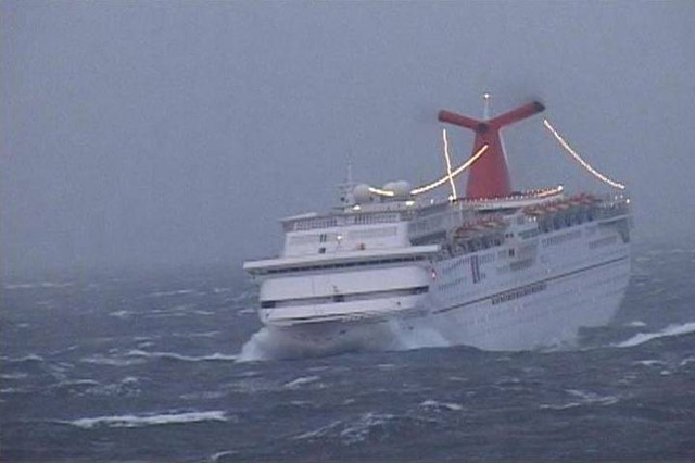 What Happens If There Is A Hurricane During My Cruise Dates - Cruise ship hits rough seas