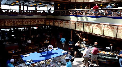 buffet on carnival liberty
