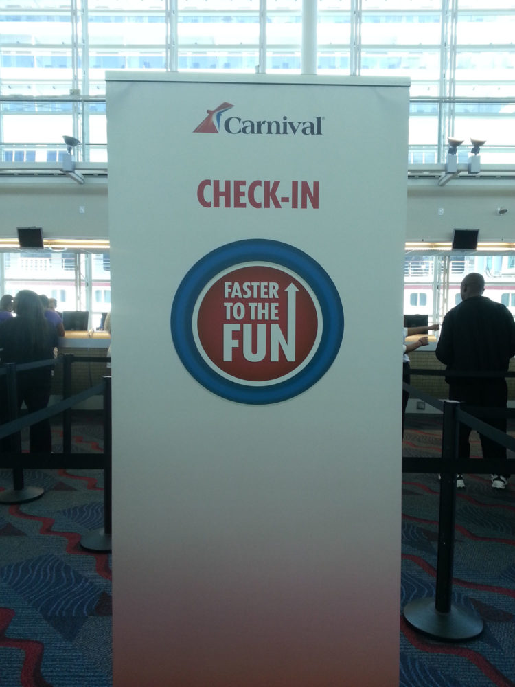 Carnival Faster to the Fun Review on the Carnival Liberty