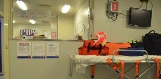 medical facility on cruise ship