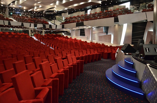 MSC Divina Pantheon theater