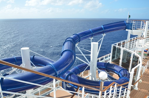 MSC Divina waterslide