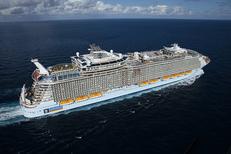 World's Largest Cruise Ship Is Headed to Europe