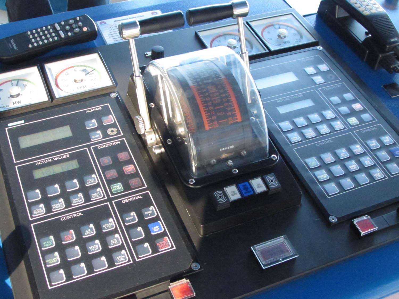 Ruby Princess Bridge Tour - Cruise ship controls