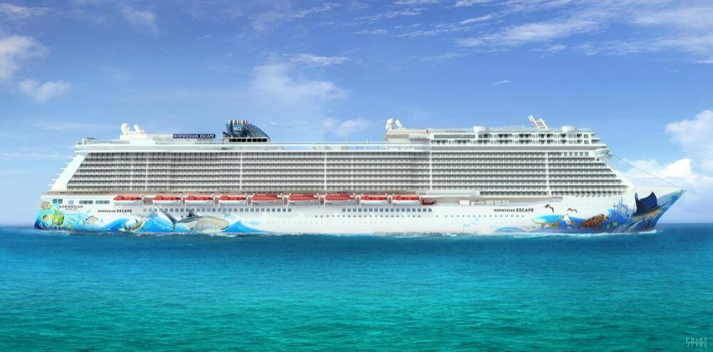 norwegian escape details released by norwegian cruise line