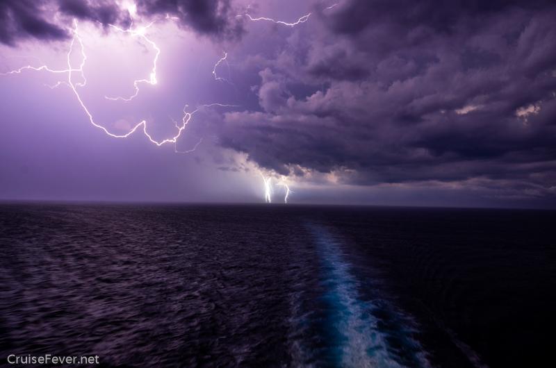 lightning on celebarity constellation