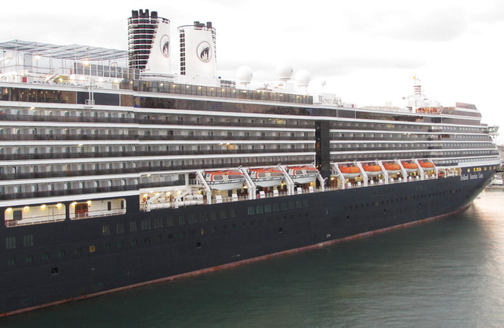 Fire Breaks Out On Holland America Line Cruise Ship