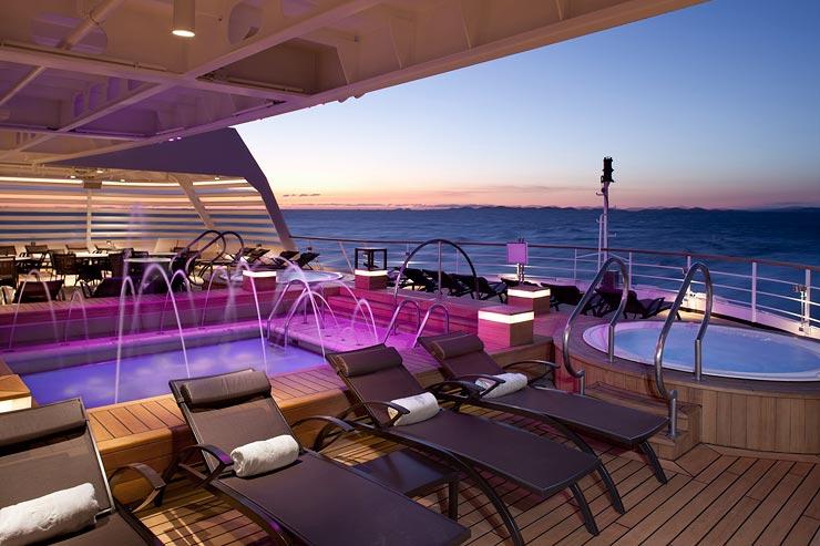 Seabourn Deck, Photo Credit: Seabourn