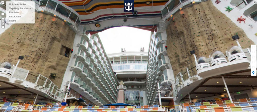 Royal Caribbean Offering Google Street View for World's Largest Cruise Ship