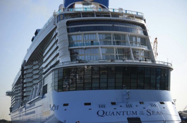 Quantum of the Seas Float Out Pictures & VideoQuantum Of The Seas Float Out