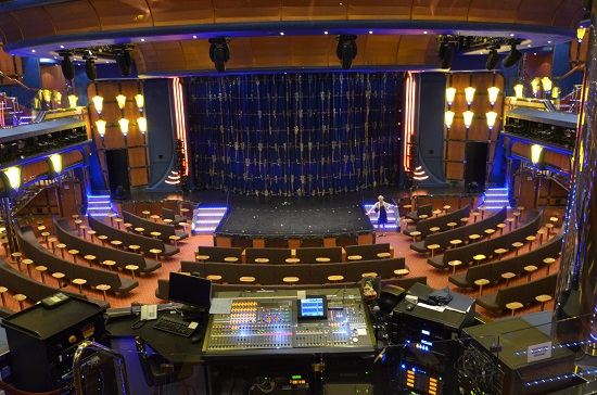 theater on carnival breeze