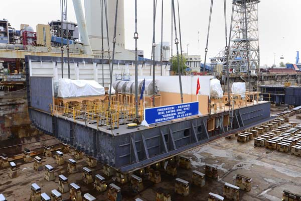 Carnival Vista Keel Laid Ship To Debut In 2016