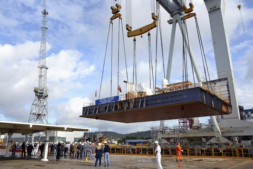Carnival Vista Keel Laid, Ship To Debut in 2016