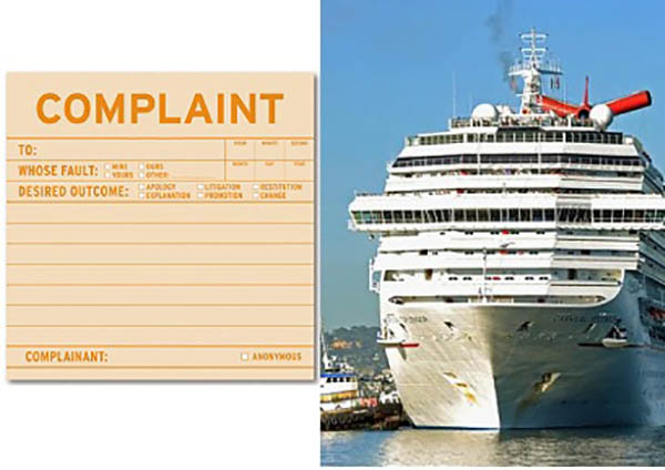 Of The Craziest Complaints Cruisers Made Last Year - Guest entertainers wanted for cruise ships