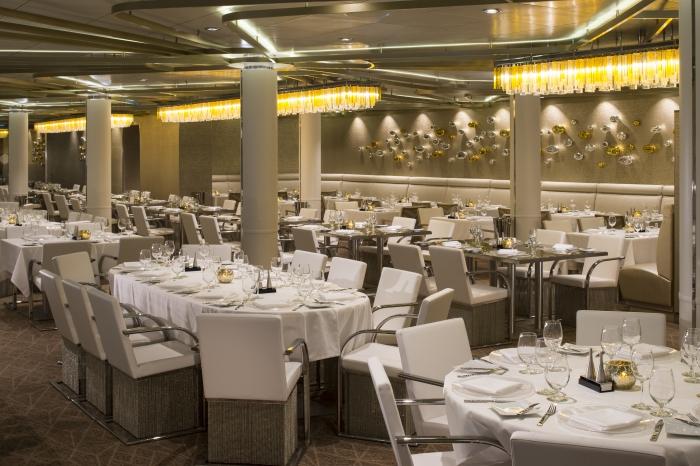 Chic Restaurant on Deck 3