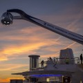 The North Star on the Quantum at sunset.