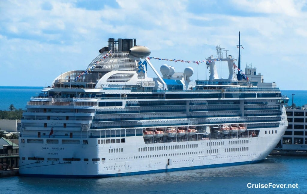 Crew Member Dies In Life Boat Accident On The Coral Princess