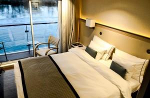 balcony room on viking longship