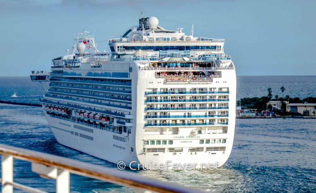 The Crown Princess had two norovirus outbreaks in 2014 in a year that saw the lowest number of outbreaks in 14 years.