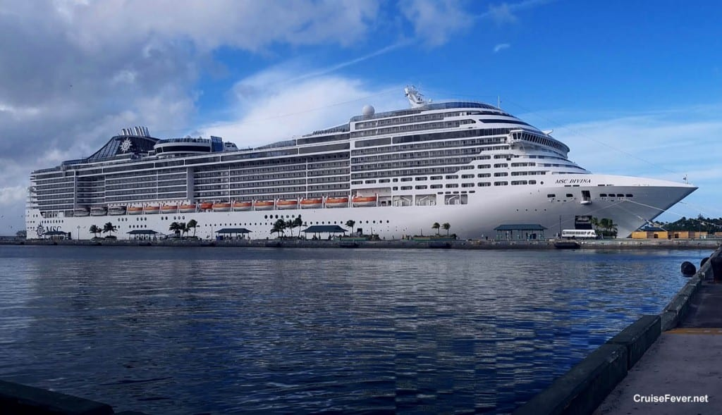 MSC Divina is Back Ship Will