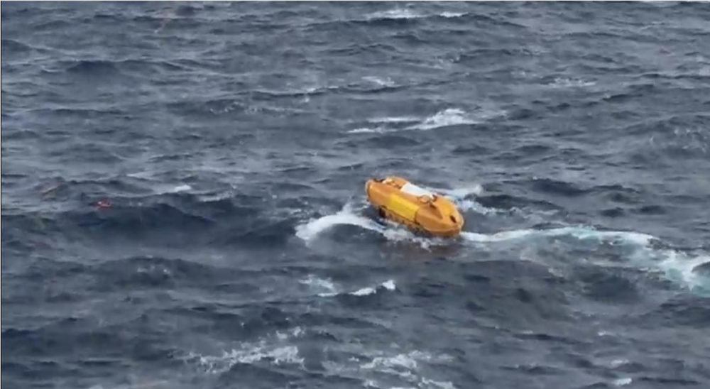 Video: Dramatic Cruise Ship Rescue at Sea