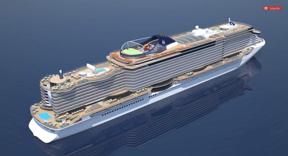 futuristic cruise ships coming to msc cruises