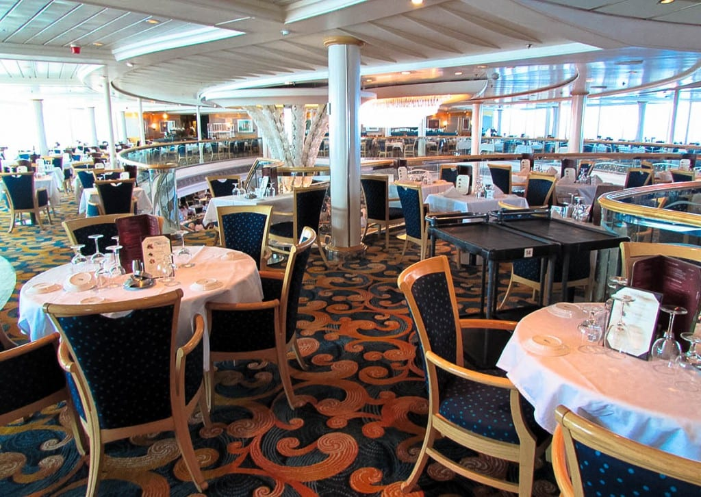 Tips For Eating In The Main Dining Room On A Cruise - Table 9 restaurant