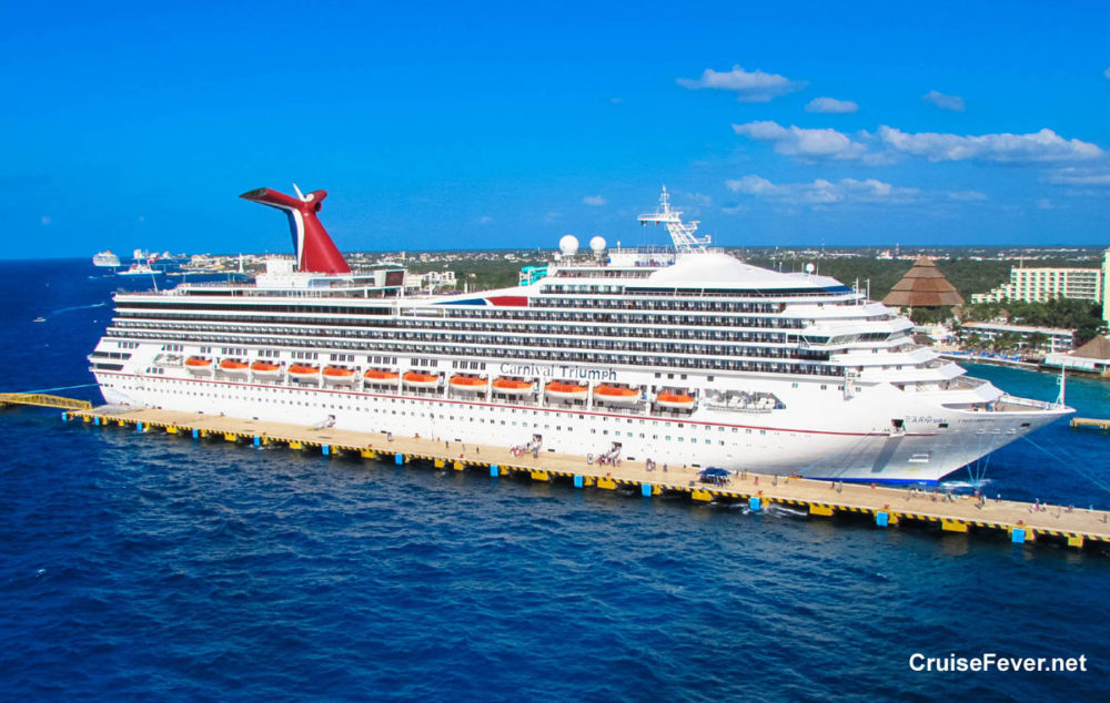 Carnival Cruise Line Continues To Shuffle Cruise Ships Triumph - Carnival triumph itinerary