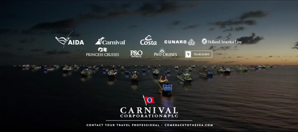 Carnival Corp. Announcing Groundbreaking Travel Offering