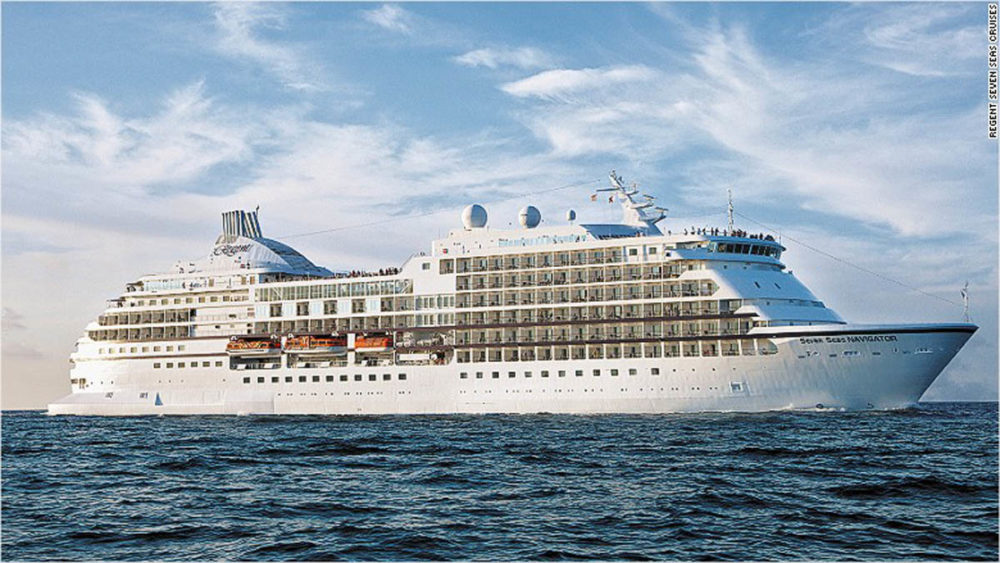 World Cruise Nearly Sells Out The First Day - First cruise ship in the world